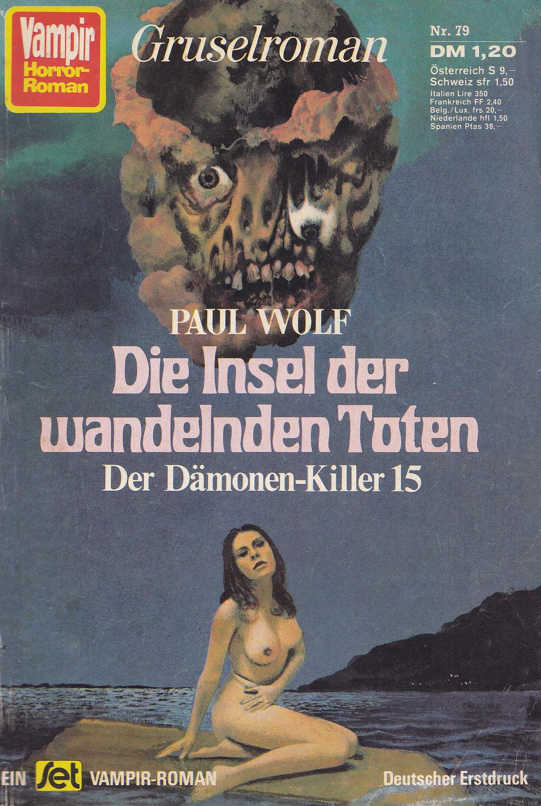 Karel Thole - Vampir Horror Roman - 079