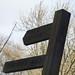 Monument Lane, Lickey - fingerpost - Public Footpath - Brown's Way
