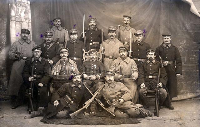 November 1914 - Gruppenbild