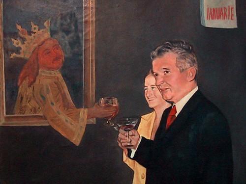 Dan Hatmanu, Ceausescu