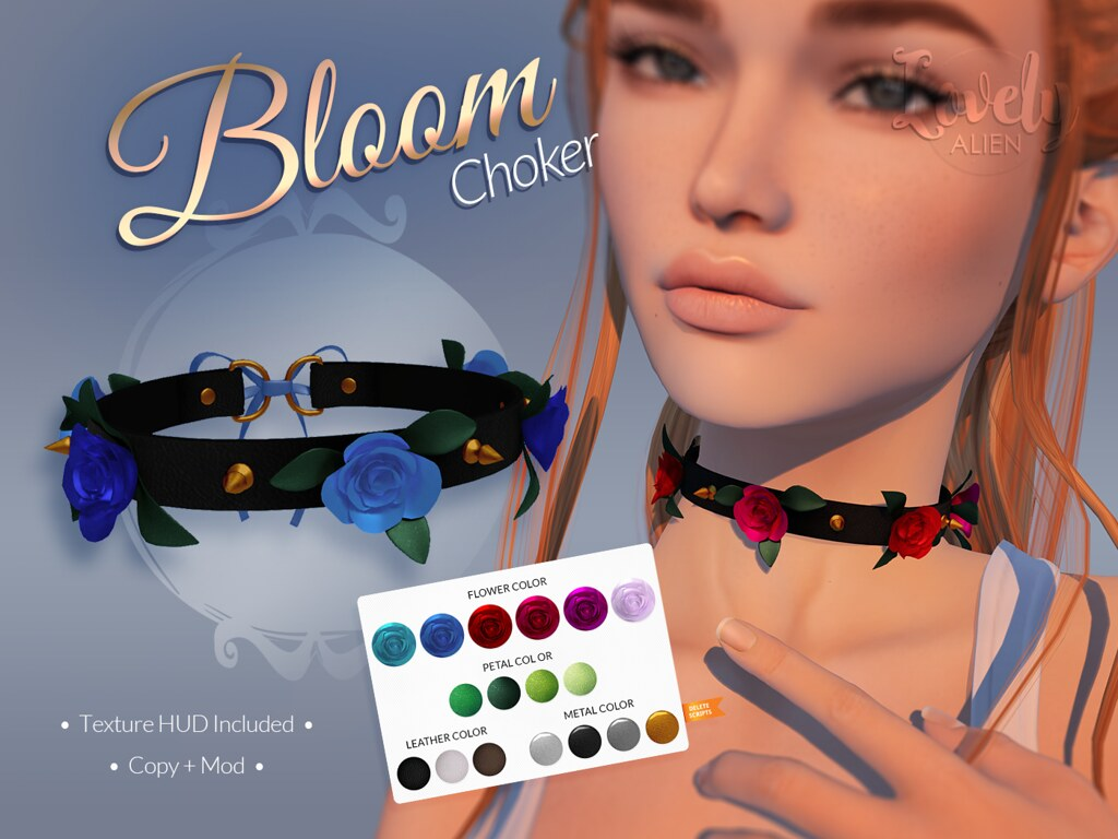 Bloom Choker For: The DollHouse