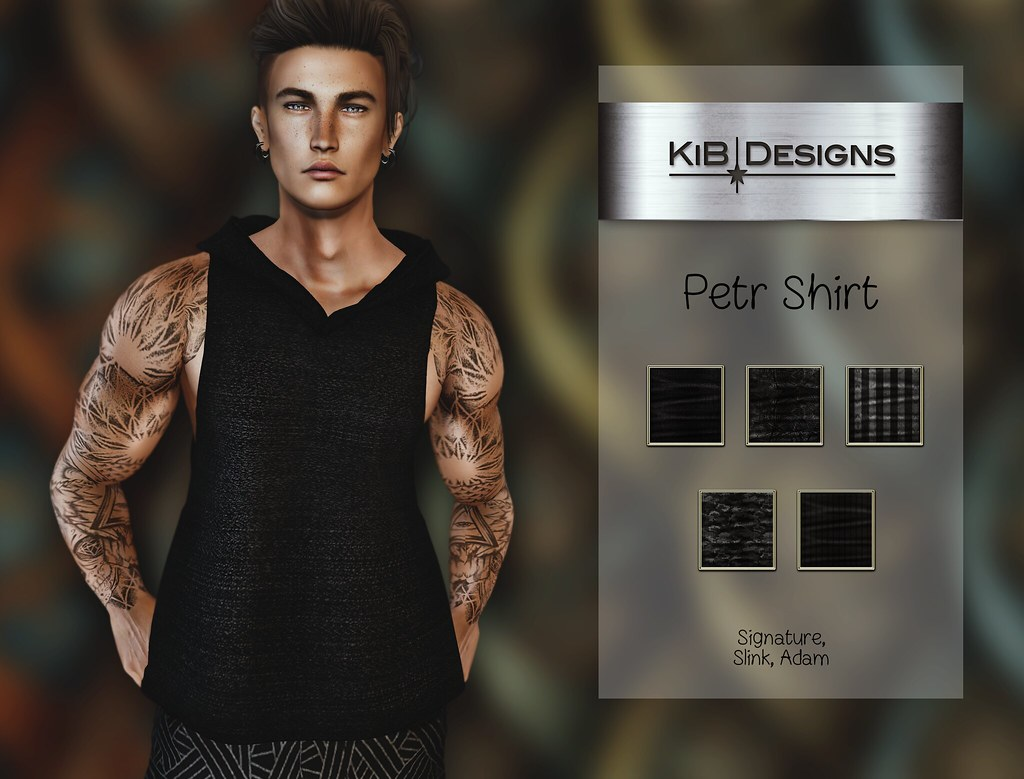 KiB Designs – Petr Shirt @Darkness Event