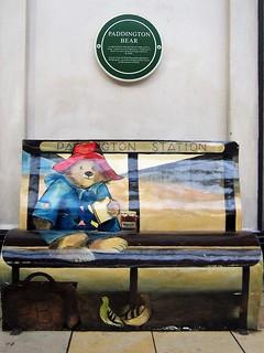 Paddington bench - Paddington Station