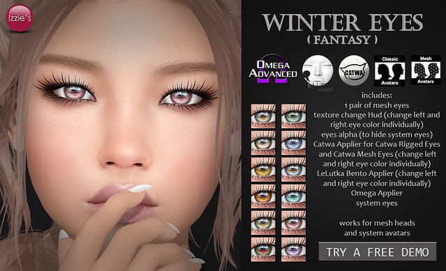 Winter Eyes fantasy (for FLF)
