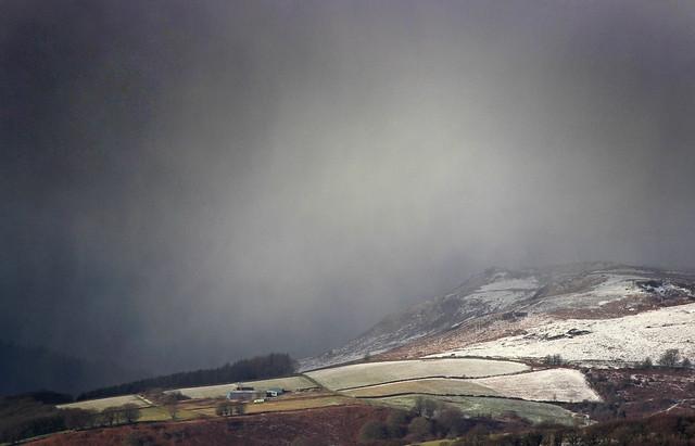Snowstorm Above Hathersage