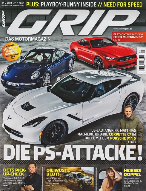 GRIP - Das Motormagazin 1/2014