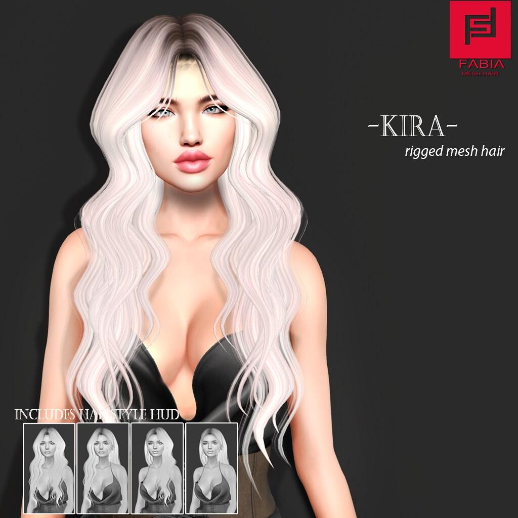 -FABIA- Mesh Hair   < Kira>