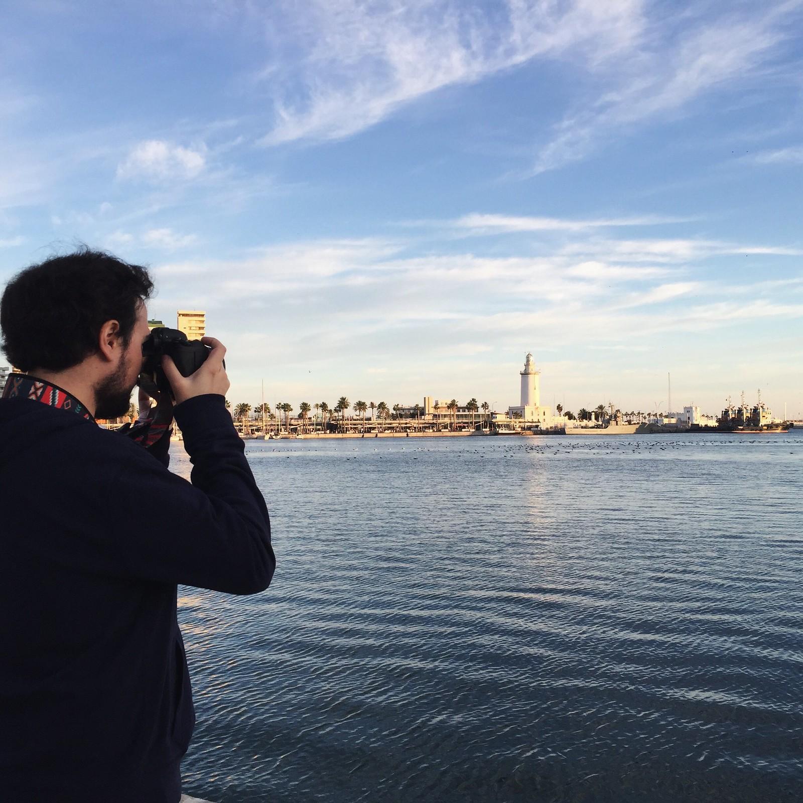 Málaga desde el iPhone