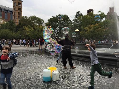 NY. Washington Square Park