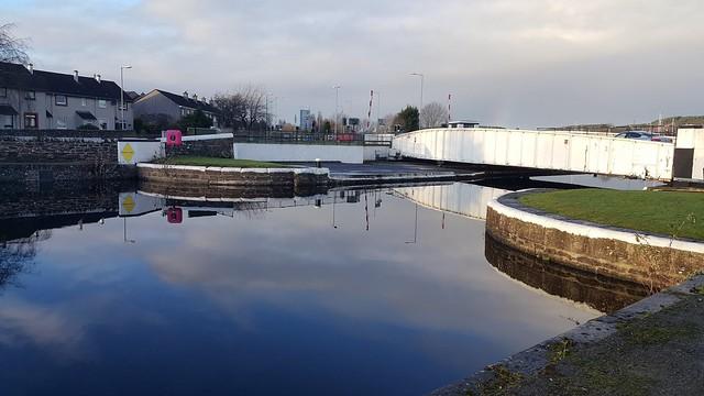 Muirtown lock. Inverness
