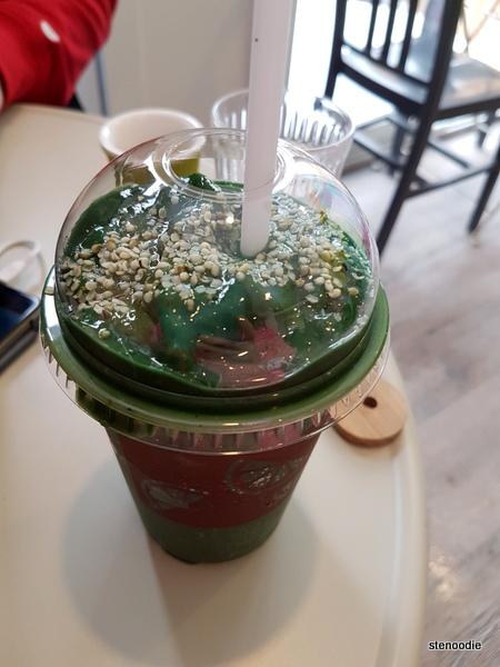 Green Ranger smoothie