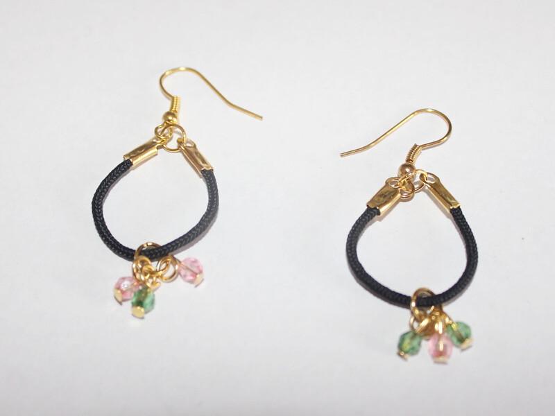 string hoop earrings 2