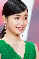 """Fukagawa Mai from """"our blue moment"""" at Opening Ceremony of the Tokyo International Film Festival 2017"""