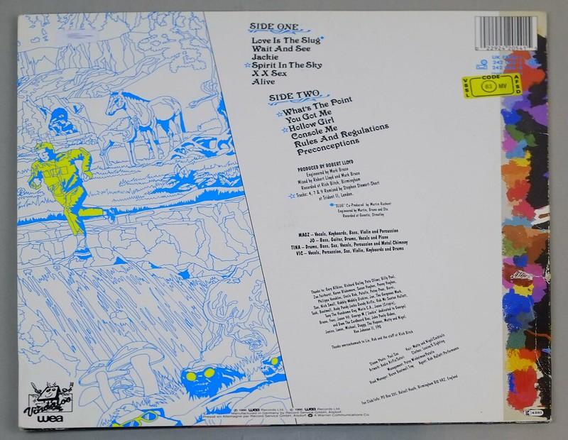 """FUZZBOX – Bostin Steve Austin 12"""" LP ALBUM VINYL"""