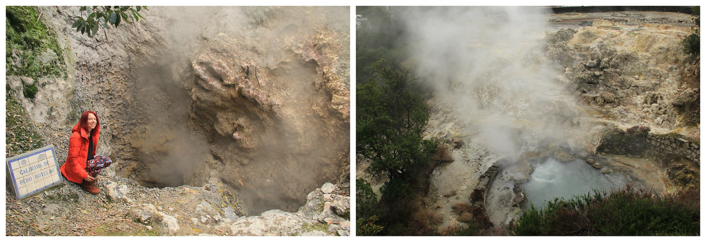 Hot springs and fumaroles of Furnas
