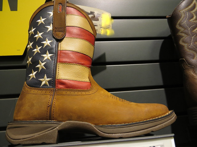 Patriotiic Cowboy Boot
