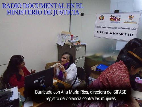 Radiodocumental Ministerio de Justicia