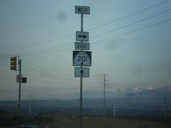 UT-172 South at UT-201 West (Exit 11 Onramp)