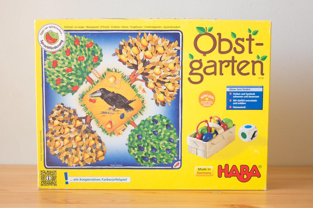 果樹園ゲーム 箱