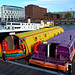 Color at Salthouse Dock, Liverpool, England