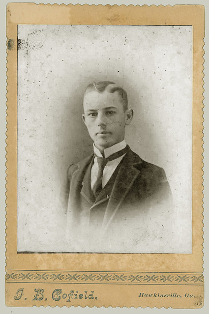 Cabinet Card portrait of a young man