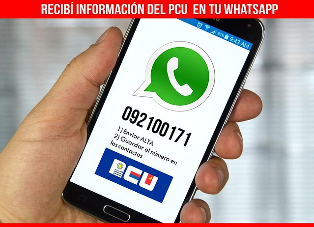 whatsapp pcu