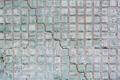 Old geometric concrete