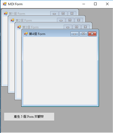 [C#] MDI 子視窗最大化-3