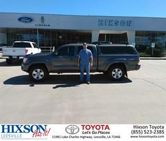 #HappyBirthday to Alan And Amanda from Jason Olfers at Hixson Toyota of Leesville!