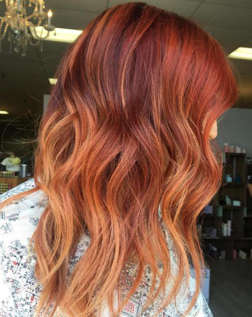 orange hair style amazing burnt orange hair color 2018 styles 2d 4773