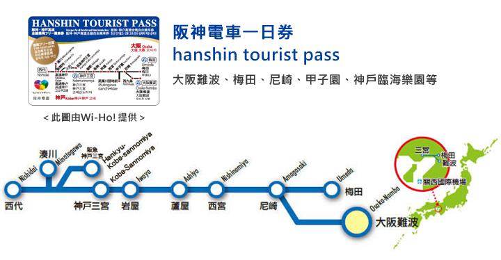 阪神電車一日券路線