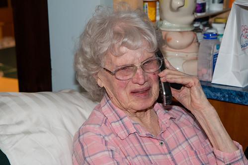 Helen turns 99
