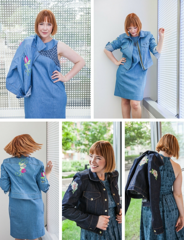 Meg Embroidered Jacket projects