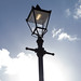Old and new   Antique lamppost   Clapham Common   Feb 2018-5