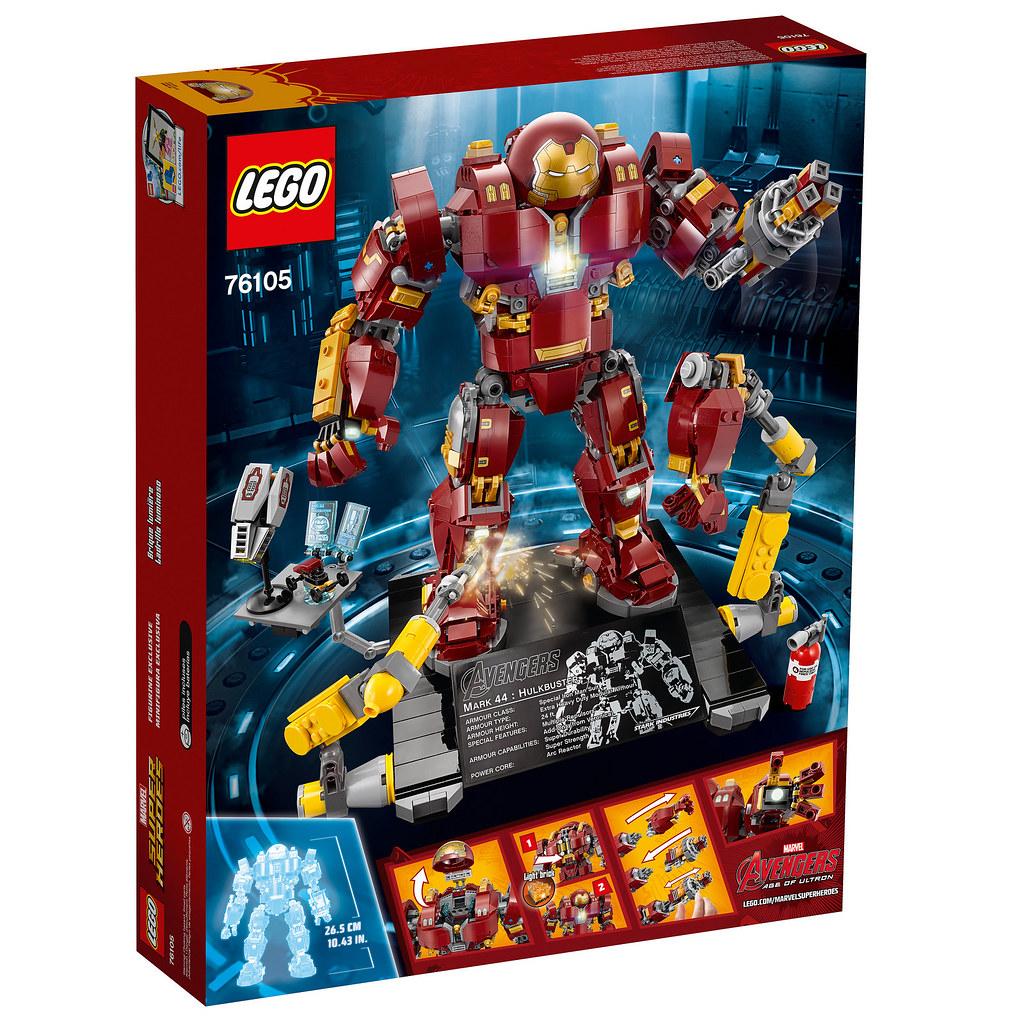 份量十足、魄力滿點!!LEGO 76105 漫威超級英雄 終極收藏家系列【浩克毀滅者:奧創紀元版】Marvel Super Heroes The Hulkbuster: Ultron Edition