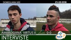 Ambrosiana-Virtus V. del 24-02-18