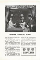 Celebrated Ice Cream Soda Water, 1947