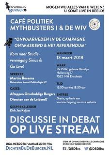 Discussie in Debat Enschede 130318