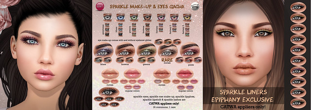 Sparkle Make-Up & Eyes Gacha