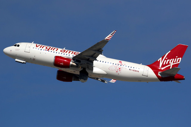 Virgin America | Airbus A320-200 | N281VA | Los Angeles International