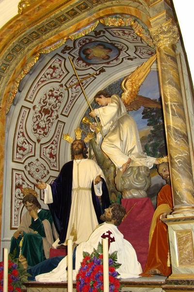 Antigua Hermandad del Santísimo Rosario y Cofradia de Nazarenos de la Sagrada Oracion de Nuestro Señor Jesucristo en el Huerto y Nuestra Madre y Señora de los Dolores (Dos Pasos).