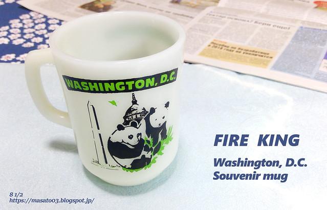 Fire King Washington, D.C. Souvenir mug2