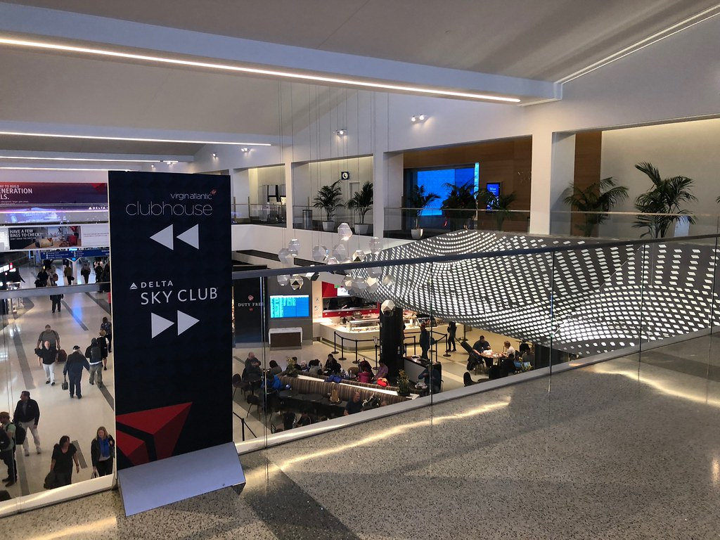 Virgin Atlantic Clubhouse LAX 31