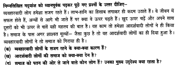 Chapter Wise Important Questions CBSE Class 10 Hindi B - पतझर में टूटी पत्तियाँ 17