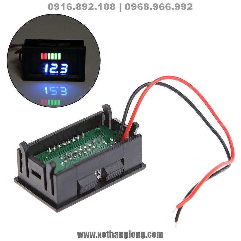 Led báo dung lượng, điện áp bình ắc quy 12V