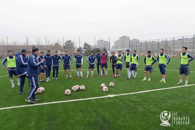 FC Banants (2) Training 14/1/2018