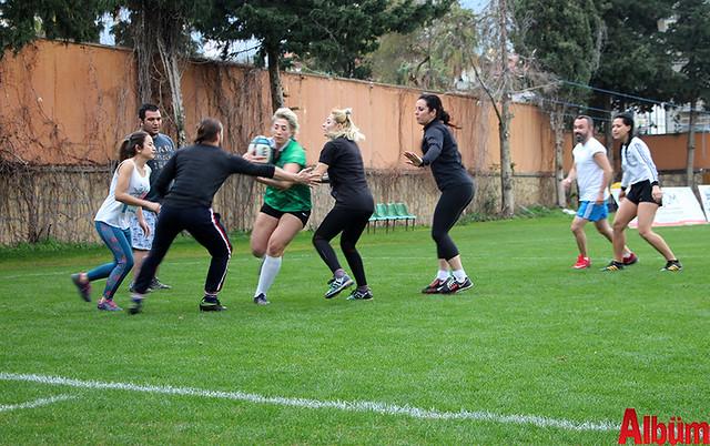 Akdeniz'in ilk ragbi kursu Alanya'da