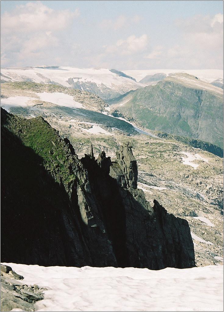 Skały Norwegii