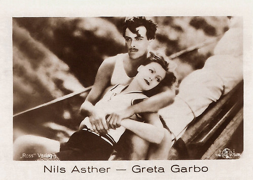Nils Asther and Greta Garbo in The Single Standard (1929)