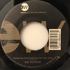 EN VOGUE:MY LOVIN'(YOU'RE NEVER GONNA GET IT)(LABEL SIDE-B)
